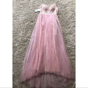 Dresses - Blush Pink Prom Dress